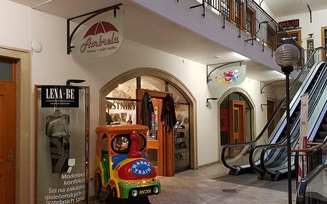 Obchodní galerie Orlí